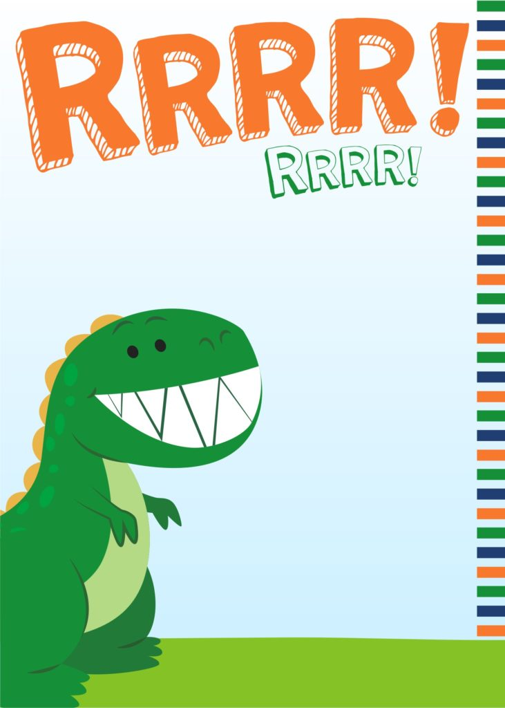 dinosaur party invitations cute party printables